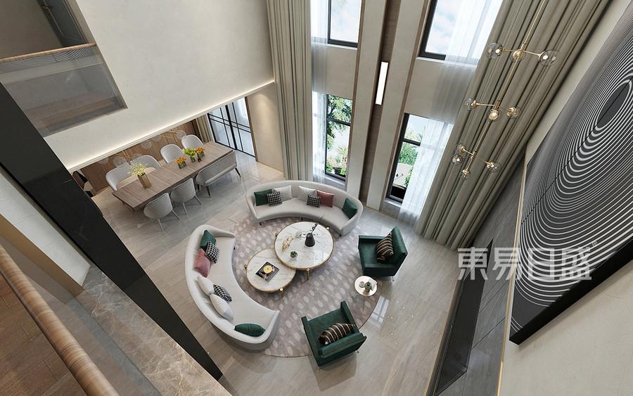 雅致主义风格客厅装修设计