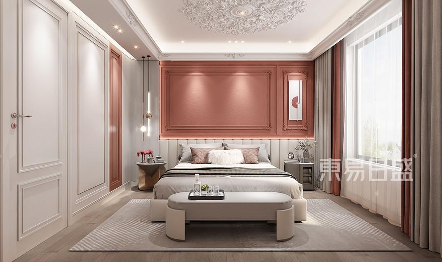 别墅500平米-简法作风-寝室结果图
