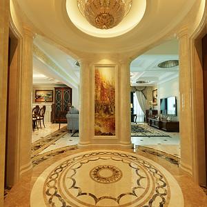 天元世家 美式风格 大厅