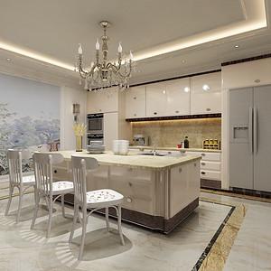 北京湾别墅-厨房