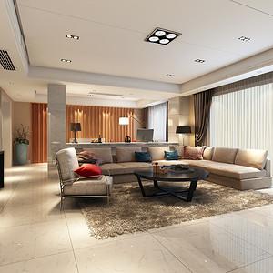 桂景园 现代简约风格装修效果图 600平米 别墅装饰设计