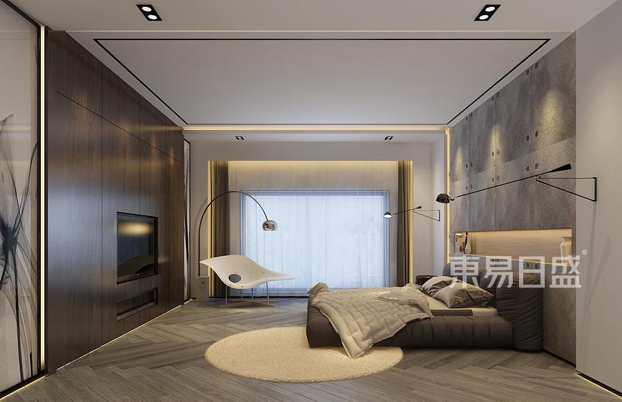 425新悦庭极简风格主卧室装修效果图