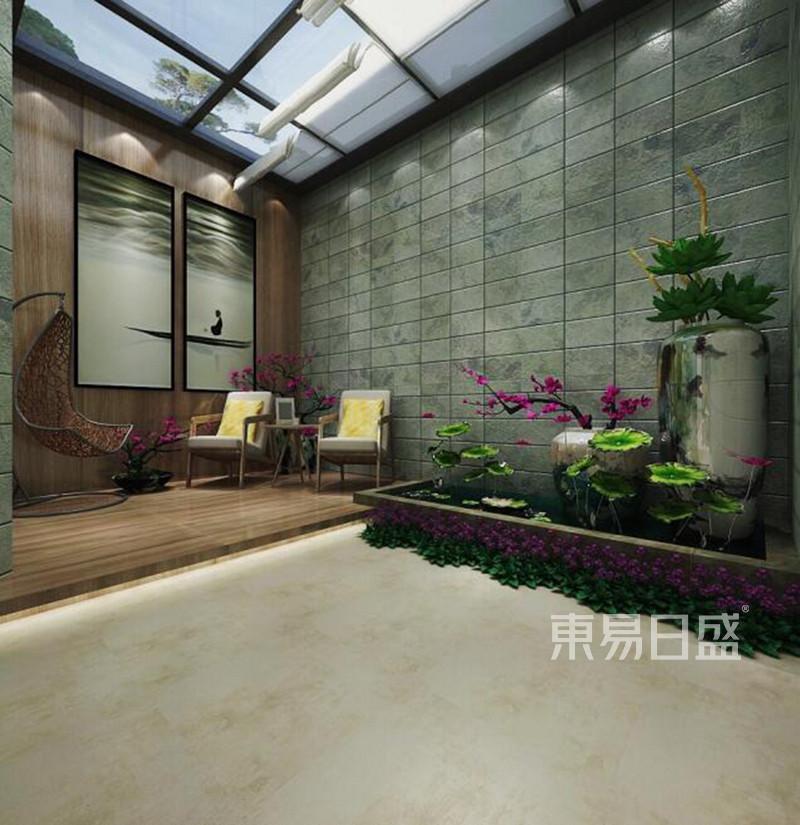 现代风格别墅庭院装修