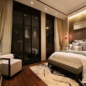 苏州美澜城 新中式卧室装修效果图