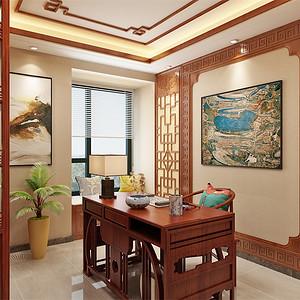 中式-书房