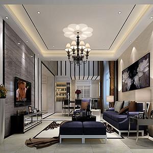 东城天骄御峰-185㎡-现代简约-四居室 装修效果图
