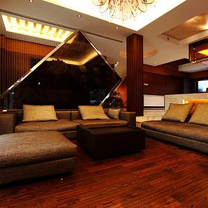 普瑞斯堡别墅350平米东南亚风格
