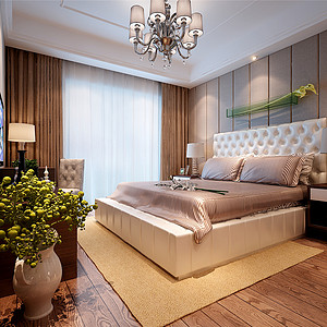 自建别墅欧式新古典风格最新卧室白金会首页
