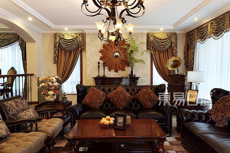 406㎡别墅美式风格案例