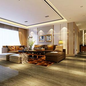现代港式风格客厅