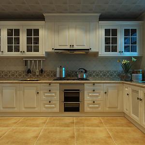 欧式风格-厨房-装修效果图