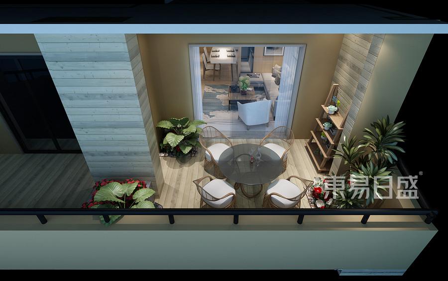 三居室-港台-效果图