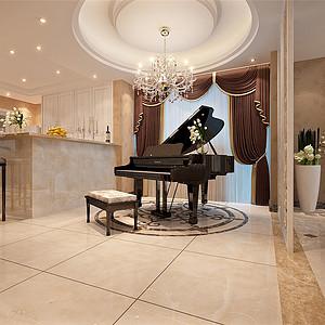 自建别墅欧式新古典风格最新客厅白金会首页