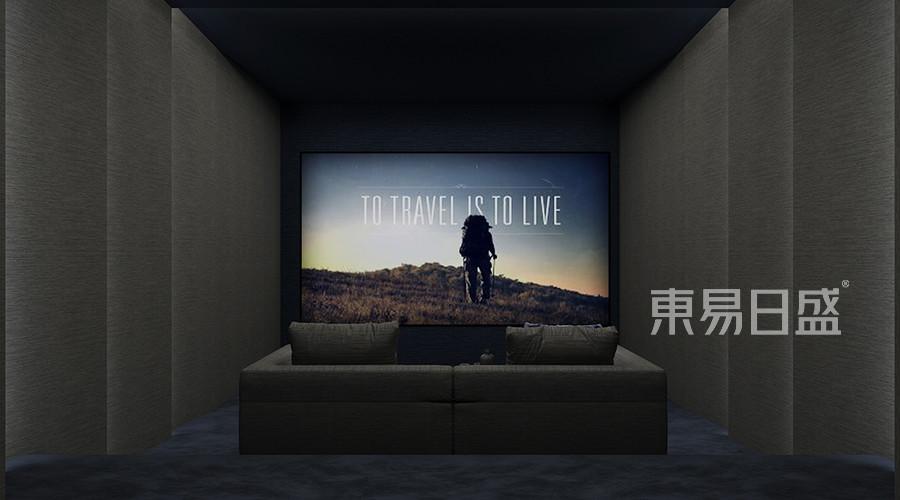优山美地-美式乡村-影音室