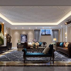 涟城-350m²-美式乡村风格