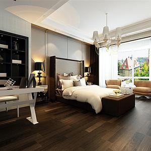 现代港式风格卧室