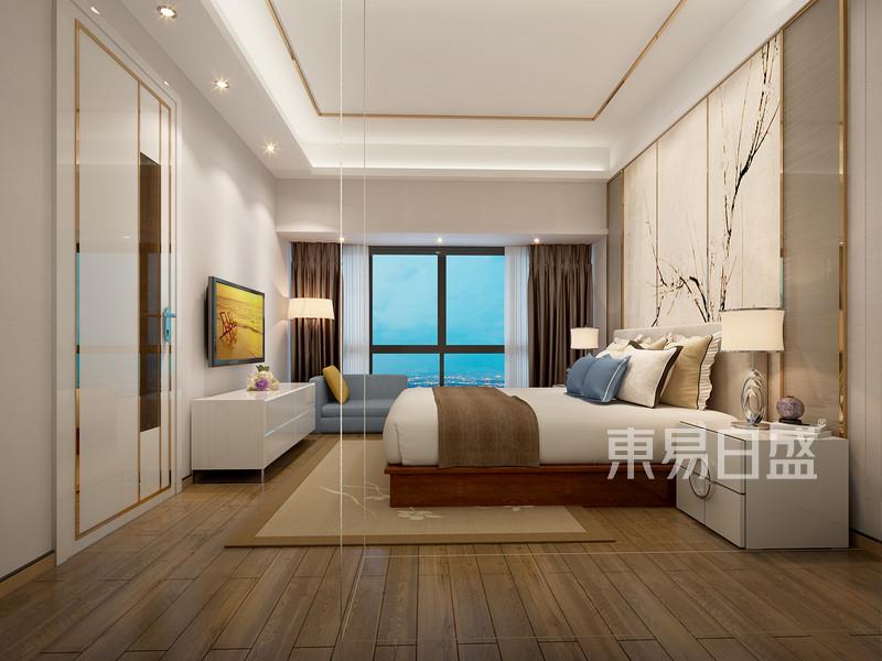 卧室装修效果图——现代简约风格图片