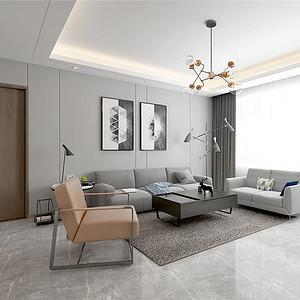 旺海公府-现代风格-190平米