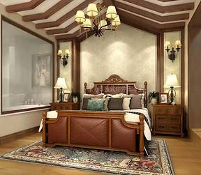 复式-美式-卧室