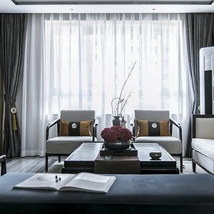 虎门御龙山装修案例  178㎡现代简约四房二厅装修实景图
