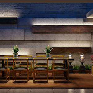 万科第五园 现代风格 阳台装修效果图