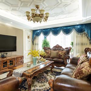 江阴院子 欧式古典 客厅