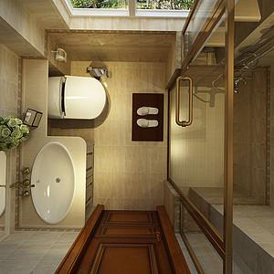 欧式风格-卫生间-装修效果图