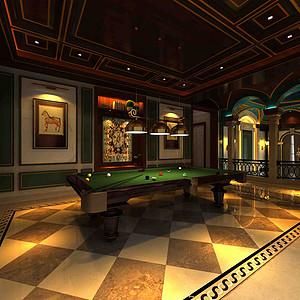 融创玫瑰园+法式风格+台球室