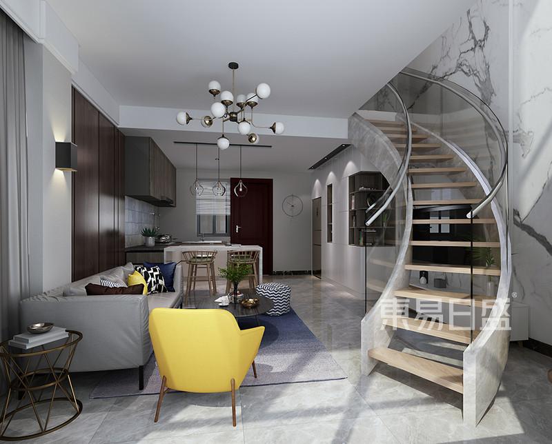 现代简约客餐厅家居装修设计