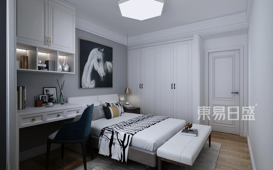 美式轻奢风格卧室装修设计