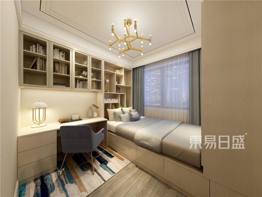 95平米翰澜苑现代风格卧室装修效果图