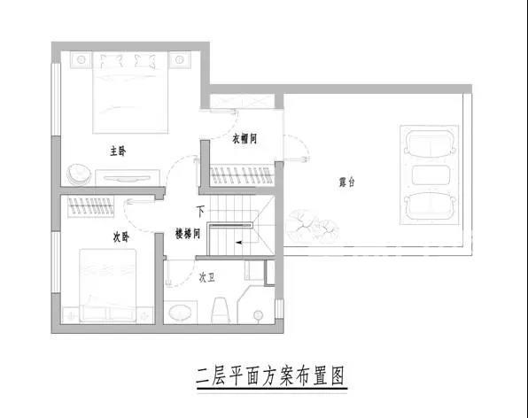 金泰丽湾悦溪山-140平米欧式-户型解析