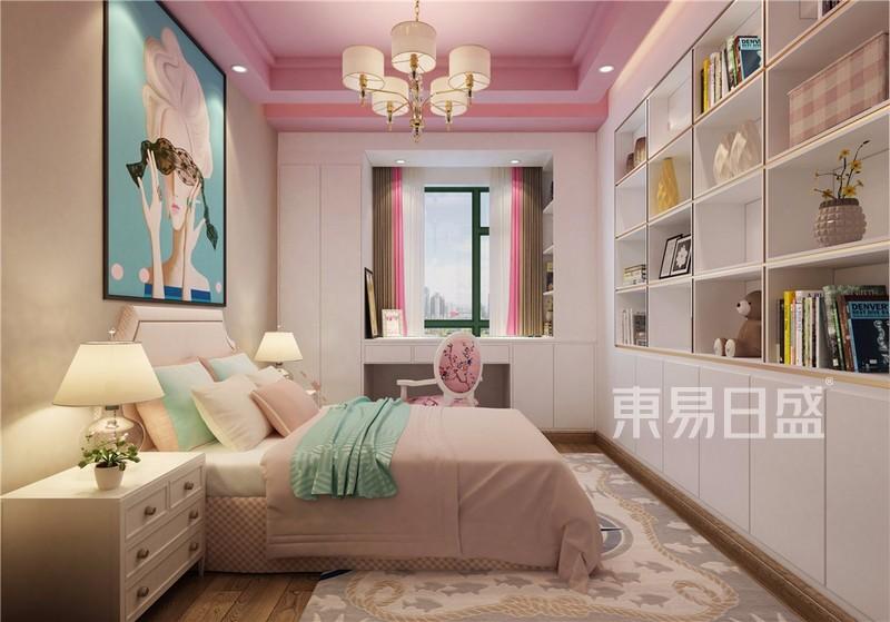 广州天誉花园现代设计风格150㎡户型分析