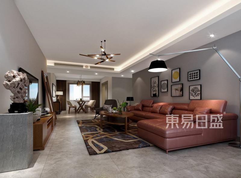 中海金玺-120平米现代风格-户型解析