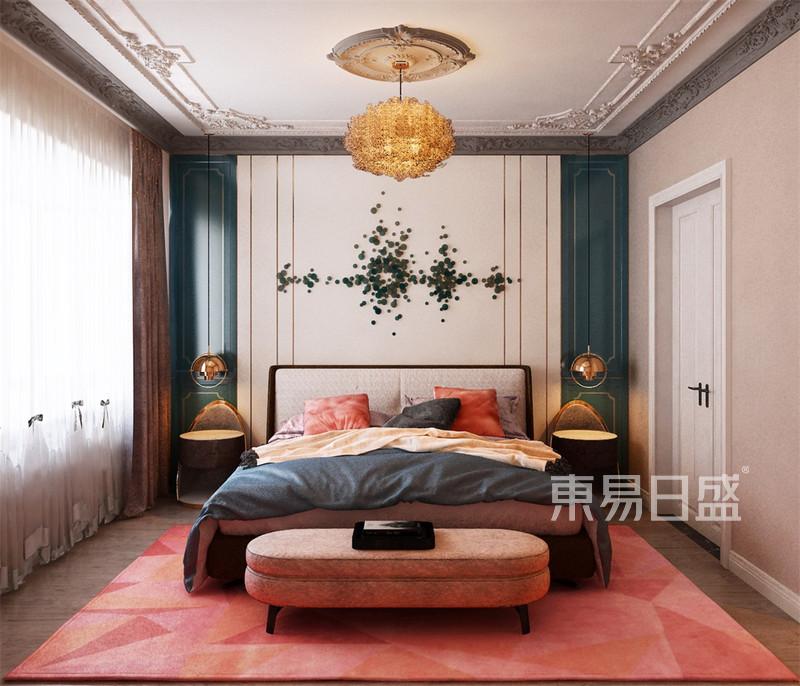 简约法式风格卧室户型解析