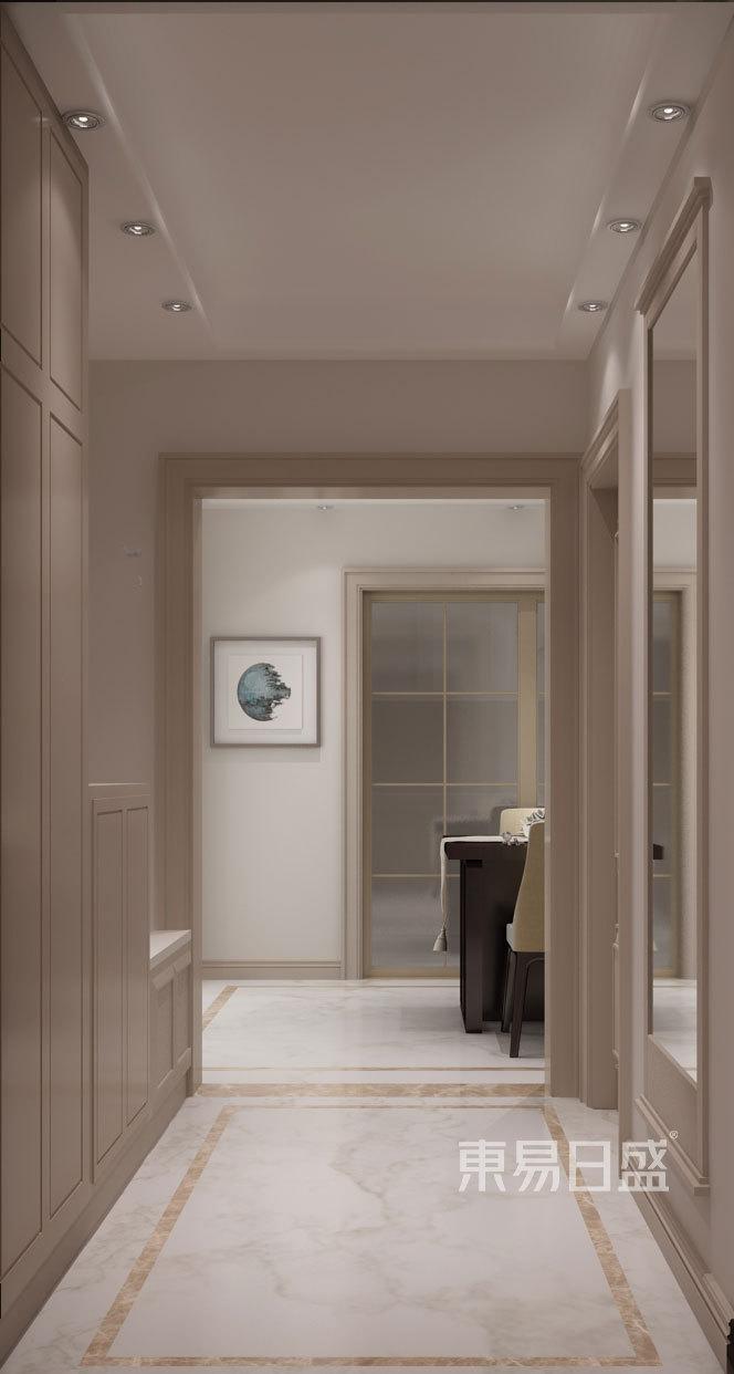 丰汇园-100平米现代风格-户型解析