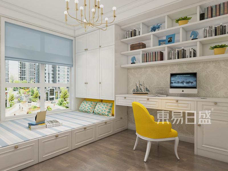 华联城市全景花园 新中式装修风格 154平米户型设计分析点评