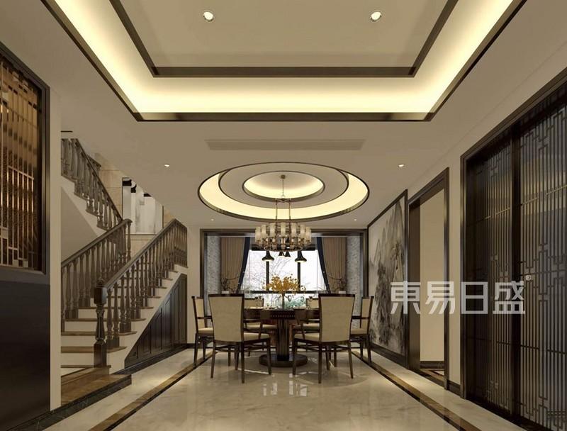 九号公馆-480平米新中式-联排户型解