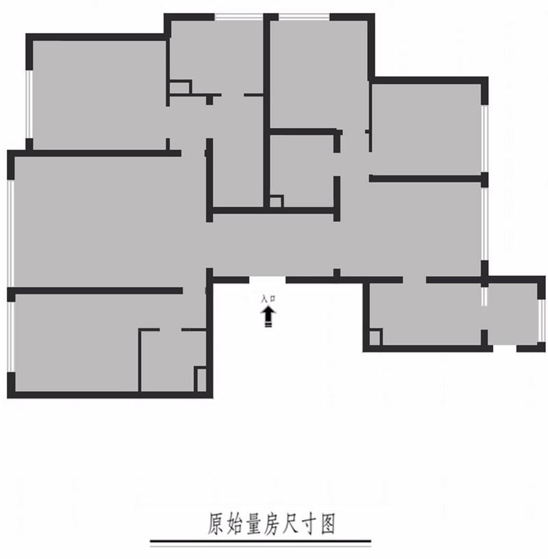 桃源里219㎡四室两厅户型解析
