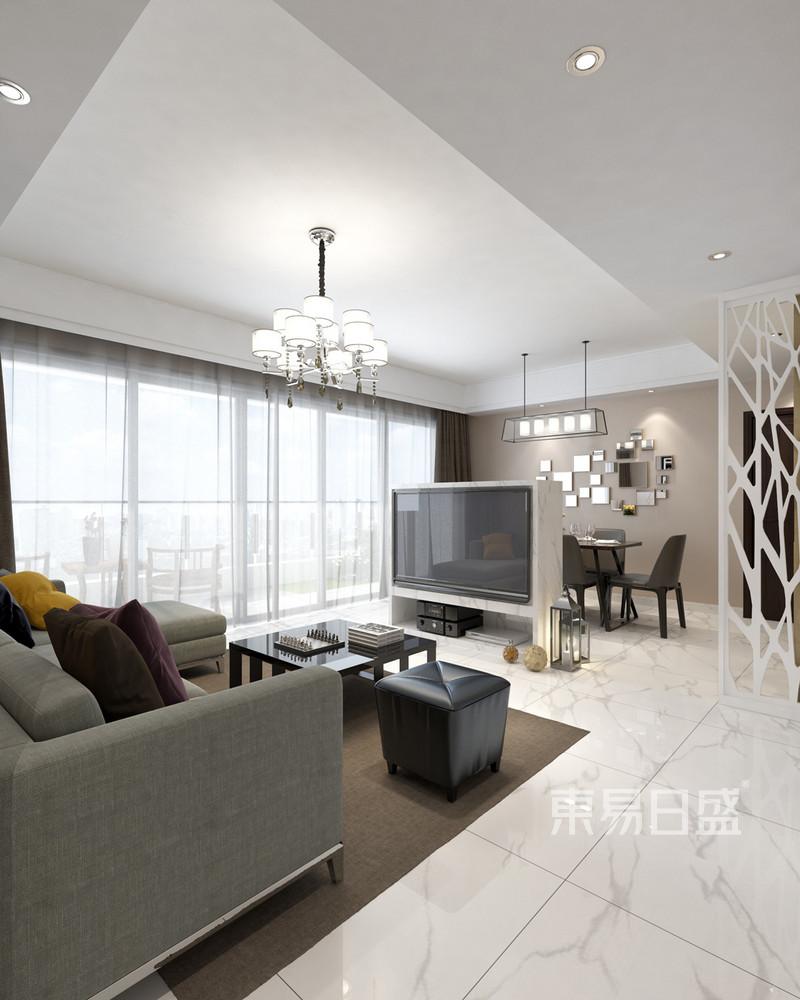 绿景虹湾 200平米 C座E户型解析 设计师 李高磊