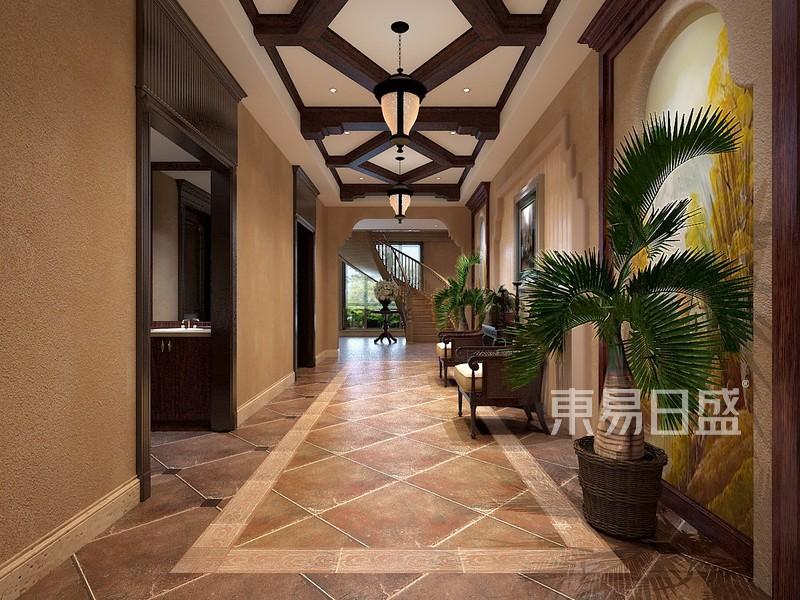 别墅装修效果图Hallway过道效果图