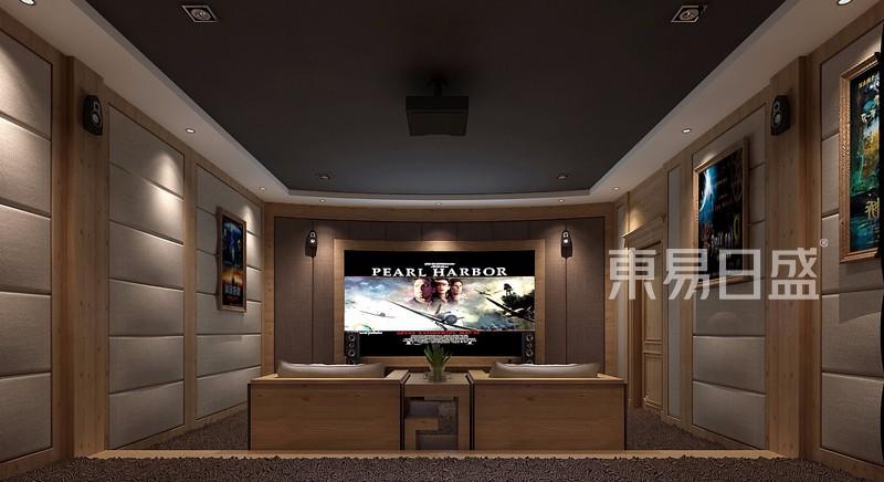 别墅装修效果图Video room影音室效果图