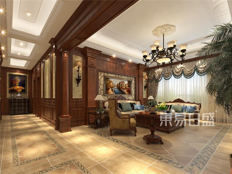 美式设计客厅餐厅门厅厨房_VRayCam0090000.jpg