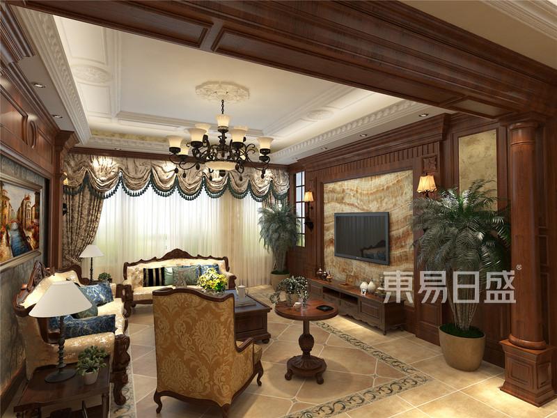 美式设计客厅餐厅门厅厨房_VRayCam0110000.jpg