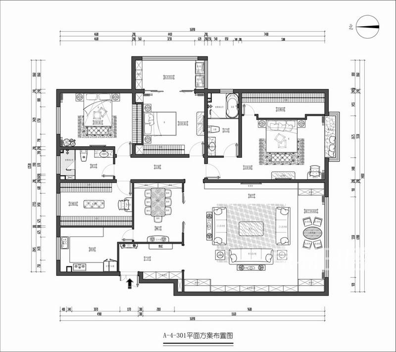 室内装修户型解析