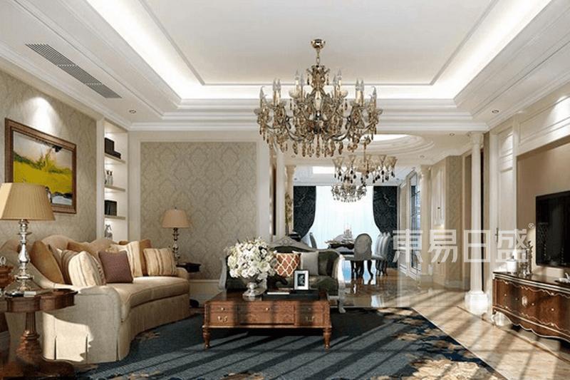 天怡家园-美式风格-195平米户型解析