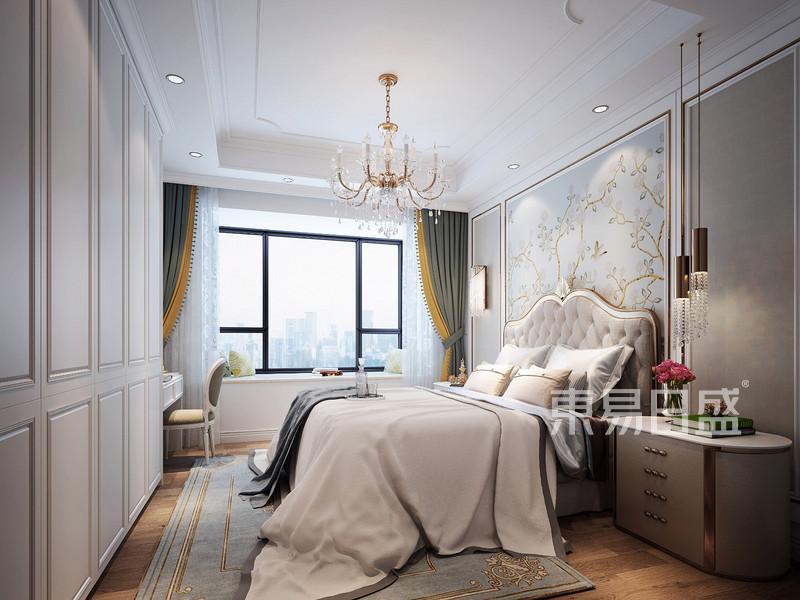 佛山120平房子卧室装修