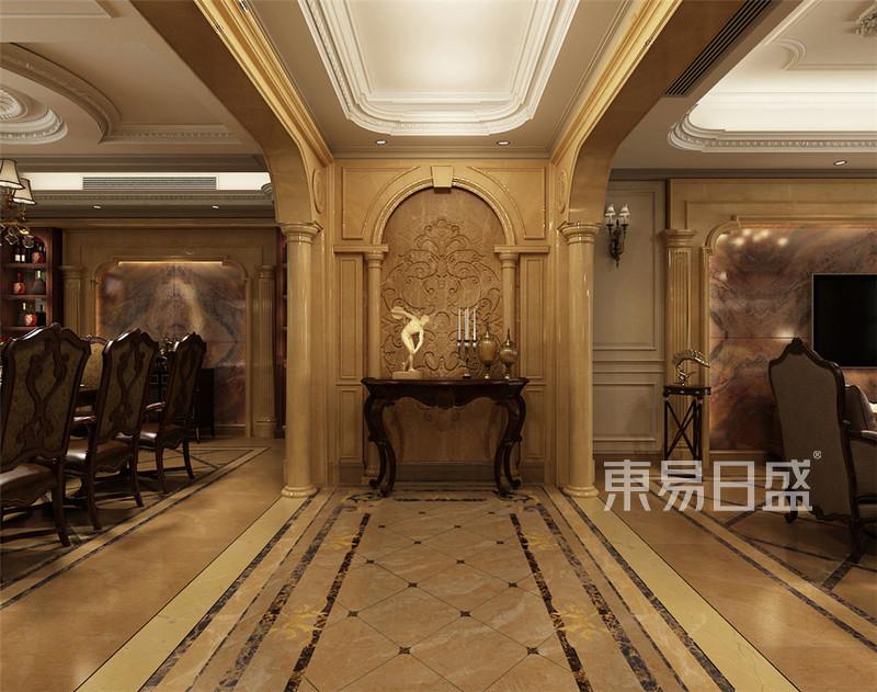 丰华悦园-380㎡-欧式古典风格-别墅-大厅(图1)