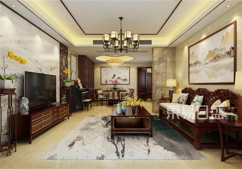 实用中式客厅装修效果图