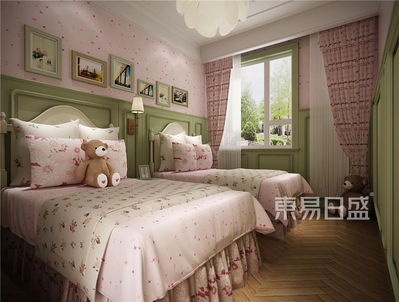 丰华悦园-380㎡-欧式古典风格-别墅-卧室(图10)
